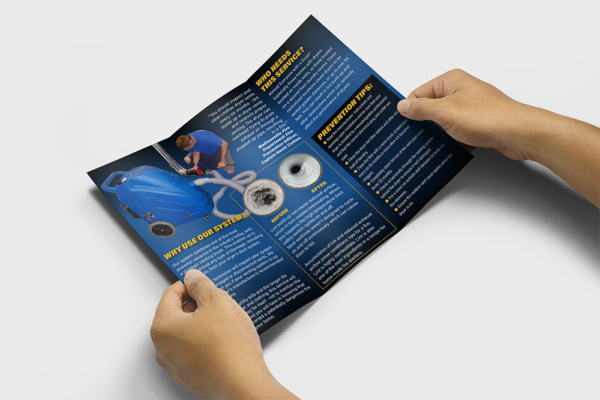 dryer vent cleaning brochure image