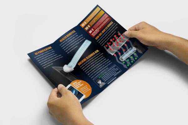 uvc max inside of brochure image