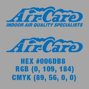 Air-Care Blue Logo Over Grey