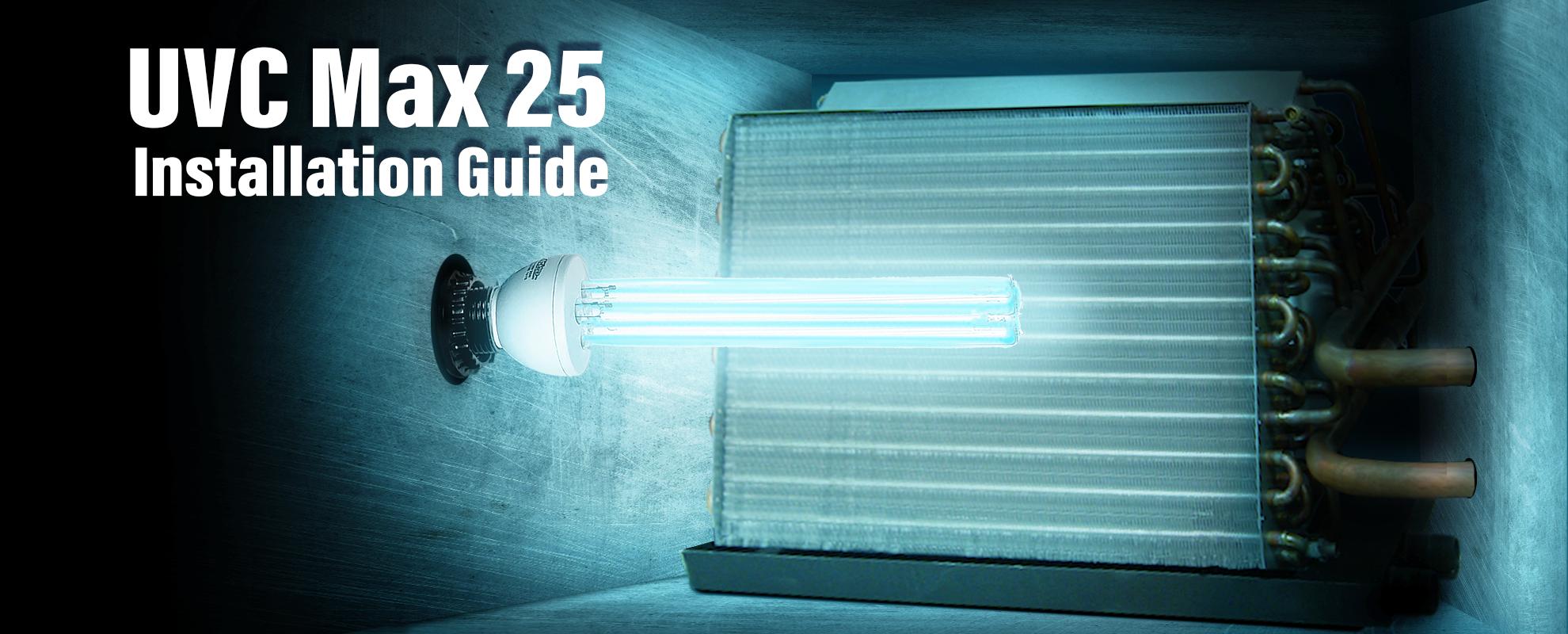 UVC Max 25 Installation Guide Image