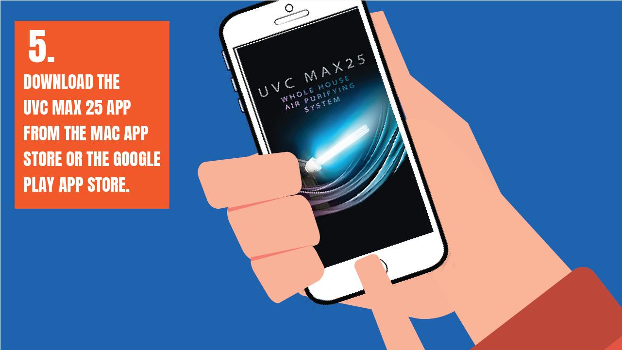 uvc max 25 app image